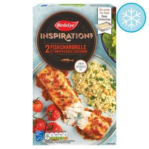 Birds Eye Inspirations Fish Chargrilled With Tomato And Herb 300G, 3 For £6.00 Or £3.50 Each @ Tesco
