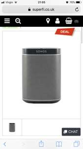 Sonos Play:1 £110 @ Superfi