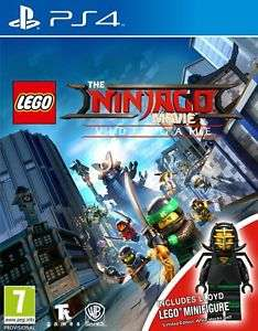 LEGO Ninjago Movie PS4 Game Mini Figure Edition now £15.99 @ Argos / Ebay Free P & P