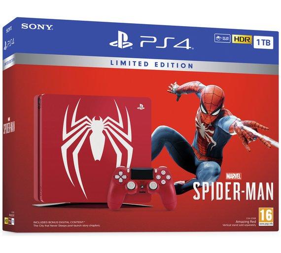Sony PS4 1TB Marvel's Spider-Man Console & Game Bundle £249.99 @ Argos