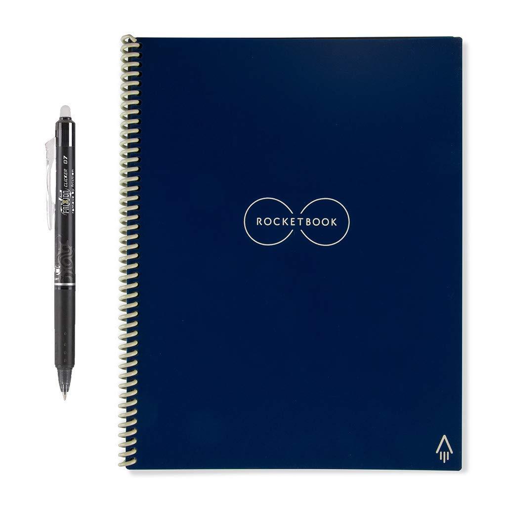 Rocketbook Everlast Smart Reusable Notebook/Journal Black/Teal/Red/Blue - Letter A4 Size £24.49 @ Amazon