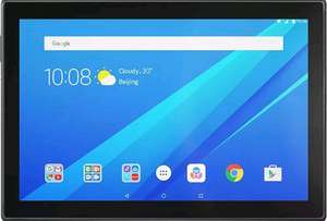 "Lenovo Tab 4 10"" Tablet Quad-core Android 7.0 2G 16GB Slate Black £116.05 delivered @ Tesco eBay Outlet"