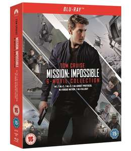 Mission Impossible 1-6 Blu Ray Box Set £21.60 @ zoom.co.uk with code SIGNUP10