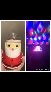 Santa Clause light £2.49 instore @ Card Factory