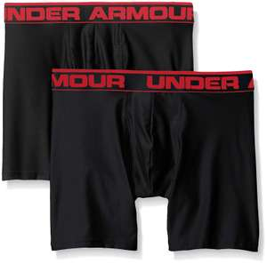 Under Armour men's O series, 6 inches, BoxerJock, 2 pack, £13.50 at amazon (+£4.49 delivery non prime)