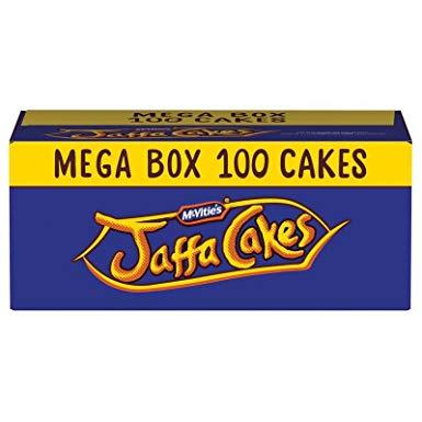 McVitie's 100 Jaffa cakes Mega Box reduced to £3 Iceland