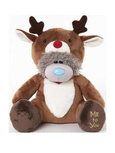 Me To You Reindeer Bear (Santa also available: See post) £10.99 Very - Free C&C