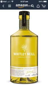 Whitley Neill Handcrafted LemonGrass and Ginger Gin, 70 cl £20 Amazon