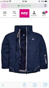 Boys Trespass 3 in 1 coat REDUCED from £42 to £21 at Very