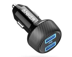 Anker 24w car charger £6.79 (Prime) / £11.28 (non Prime) with promo Sold by AnkerDirect and Fulfilled by Amazon.