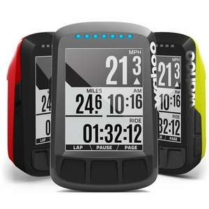 Wahoo Elemnt Bolt cycling computer GPS £169.99 in red or yellow from wahoo
