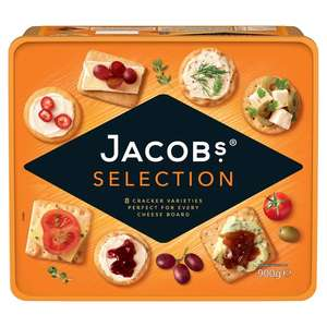 Jacob's Selection Biscuits For Cheese 900g £4 Morrisons