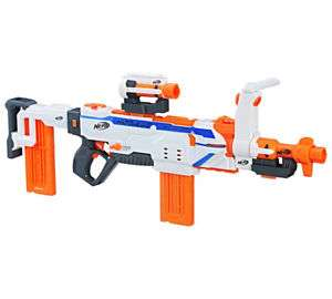 Nerf Gun Elite Modulus Regulator Blaster Fully Motorised Darts Bullets Kids Toy for £24.65 W/c Delivered @ Ebay (Tesco outlet)