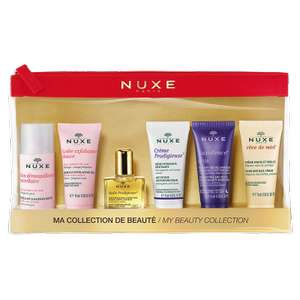 Nice travel set reduced to £13.50 plus free delivery plus get 2 deluxe samples and 3 other samples
