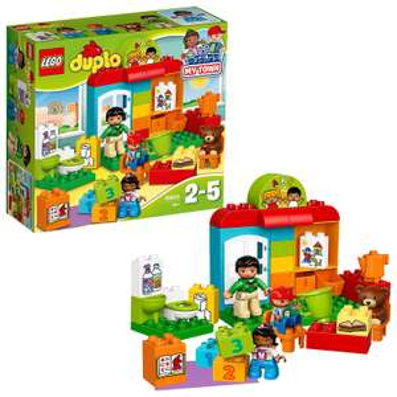 LEGO DUPLO 10833 Nursery School Building Kit, Preschool Construction Toy, £11.62 (Prime) / £16.11 (non Prime) at Amazon