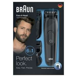 Braun Multi Grooming Kit – 6-in-1 Precision Trimmer for Beard and Hair Styling - £19.99 @ Boots
