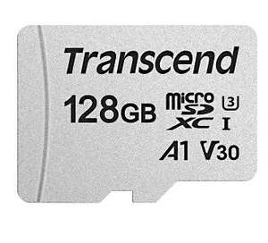 Transcend 300S 128GB UHS-1 (U3) A1 microSD Card for £16.24 Delivered @ CCLOnline
