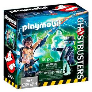 Playmobil Ghostbusters Spengler And Ghost £3.50 Tesco