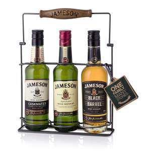 1 DAY ONLY - Jameson Irish Whiskey Expression Gift Pack, 60 cl (20 cl x 3) - £23.90 Amazon