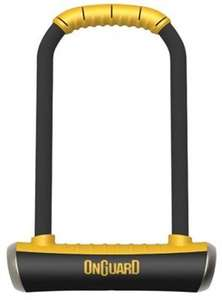 OnGuard Brute Lock Shackle U-Lock - Gold Sold Secure Rating £21.99 with mailing list at Tredz Online Bike Shop