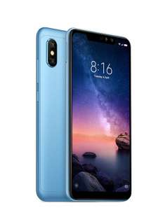 """Xiaomi Redmi Note 6 Pro - 32GB 6.26"""" inches Android 8.1 UK Version SIM-Free Smartphone - Blue for £159.99 delivered @ Amazon"""