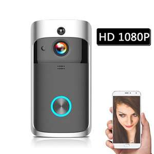 HD 1080P WiFi Smart Wireless Security DoorBell (no batteries) £32.93 Delivered at TomTop