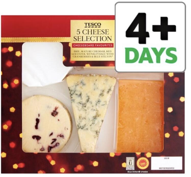 Tesco Classic 5 Cheese Selection 500G £4 @ Tesco