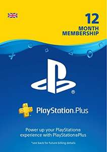 PlayStation plus 12 month subscription £38.99 @ cdkeys