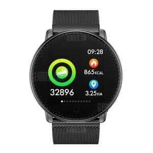 UMIDIGI Uwatch Smart Color Bracelet Smartwatch (with heart tracker) - Steel or Silicon Band £21.49 Del @ Gearbest