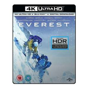 Everest 4K UHD Blu-ray £4.99 @ 365 Games [Includes 4K Blu Ray & Digital Download]