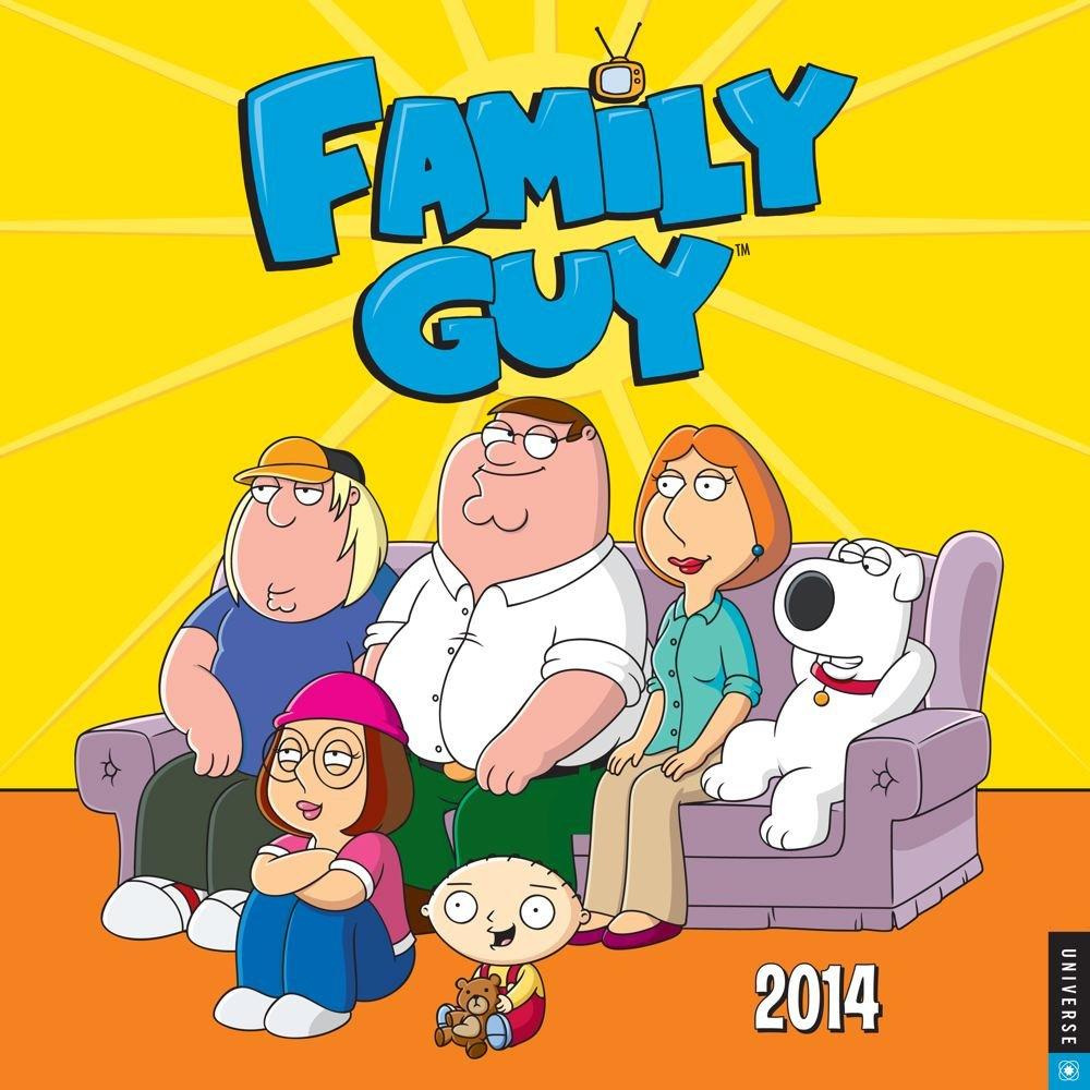 Family Guy 2014 Wall Calendar - amazon prime