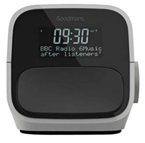Goodmans DAB+ & FM Clock Radio with USB Charging £19.99 prime / £24.48 non prime Sold by SmartSalesUK and Fulfilled by Amazon lightning deal