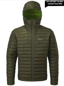 24% off Men's Microlight Alpine Jacket £144.40 @ Taunton leisure