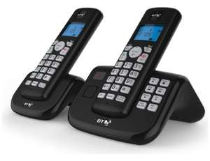BT 3560 Cordless Telephone with Answer Machine - Twin £19.99 @ Argos eBay - Free Delivery