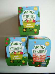 Heinz by Nature Fruit Pots 3 for £1 @ Heron