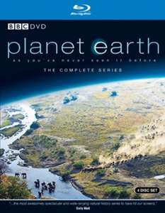 Planet Earth The Complete Series Blu Ray Used £3.32 w/code APP10 @ Music Magpie