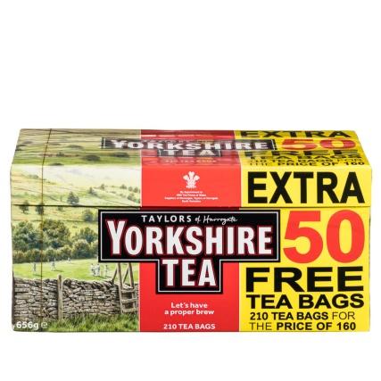 Yorkshire Tea 160s + 50 Free