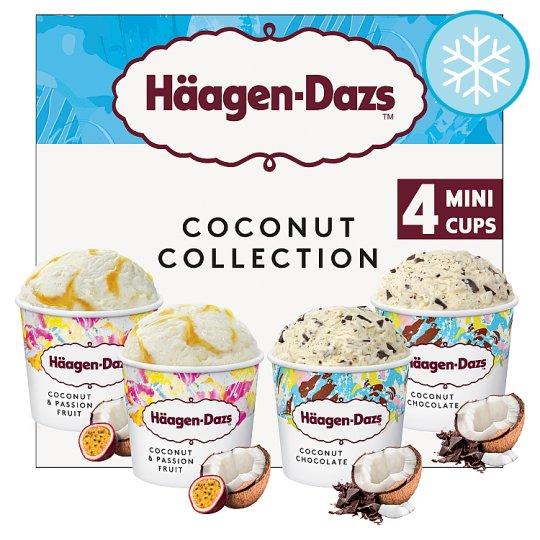 Haagen-Dazs Coconut Collection Ice Cream 4X100ml only £2 @ Heron