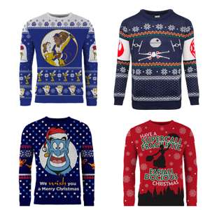 Christmas jumper sale (Star Wars & Disney) 40% off code stacks with current sale to give 50% and 60% (ish) off @ Merchoid