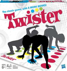 Twister game now £7.99 on Amazon with Prime plus part of 3 for 2 on Hasbro games