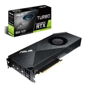 ASUS NVIDIA RTX 2080, 8G Turbo Graphics Card + Free BFV Code £659.99 @ SCAN