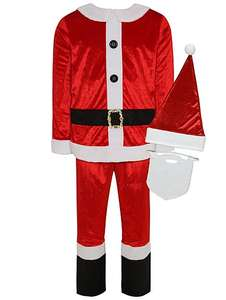 Adult Santa Fancy Dress Costume  Was £16 now £10  @ Asda/George Free C&C