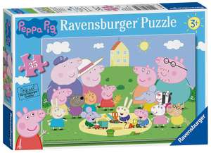 Ravensburger Peppa Pig - Fun in the Sun 35pc Jigsaw Puzzle for £2.90 Prime (+£4.49 Non) Delivered @ Amazon UK