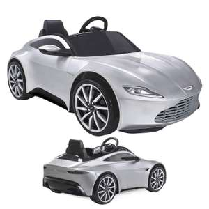 Aston Martin DB10 6V Ride on Electric Car @ Thisisitstores - half price now £99.99 with free delivery