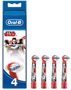 Oral-B Stages Kids Star Wars Replacement Toothbrush Heads Powered by Braun - Pack of 4- £7.83 (Amazon) /non £12.32 @ Amazon