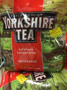 Morrisons: Yorkshire Tea 480 teabags £6 instore offer at Camberwell Green SE5