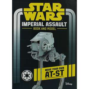 Star Wars Imperial Assault - Book and Model £3 @ The Works (Free C&C)