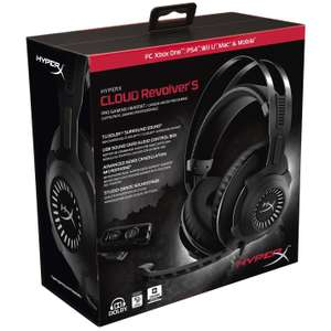 HyperX Cloud Revolver S Dolby Surround 7.1 Gaming Headset @ Amazon