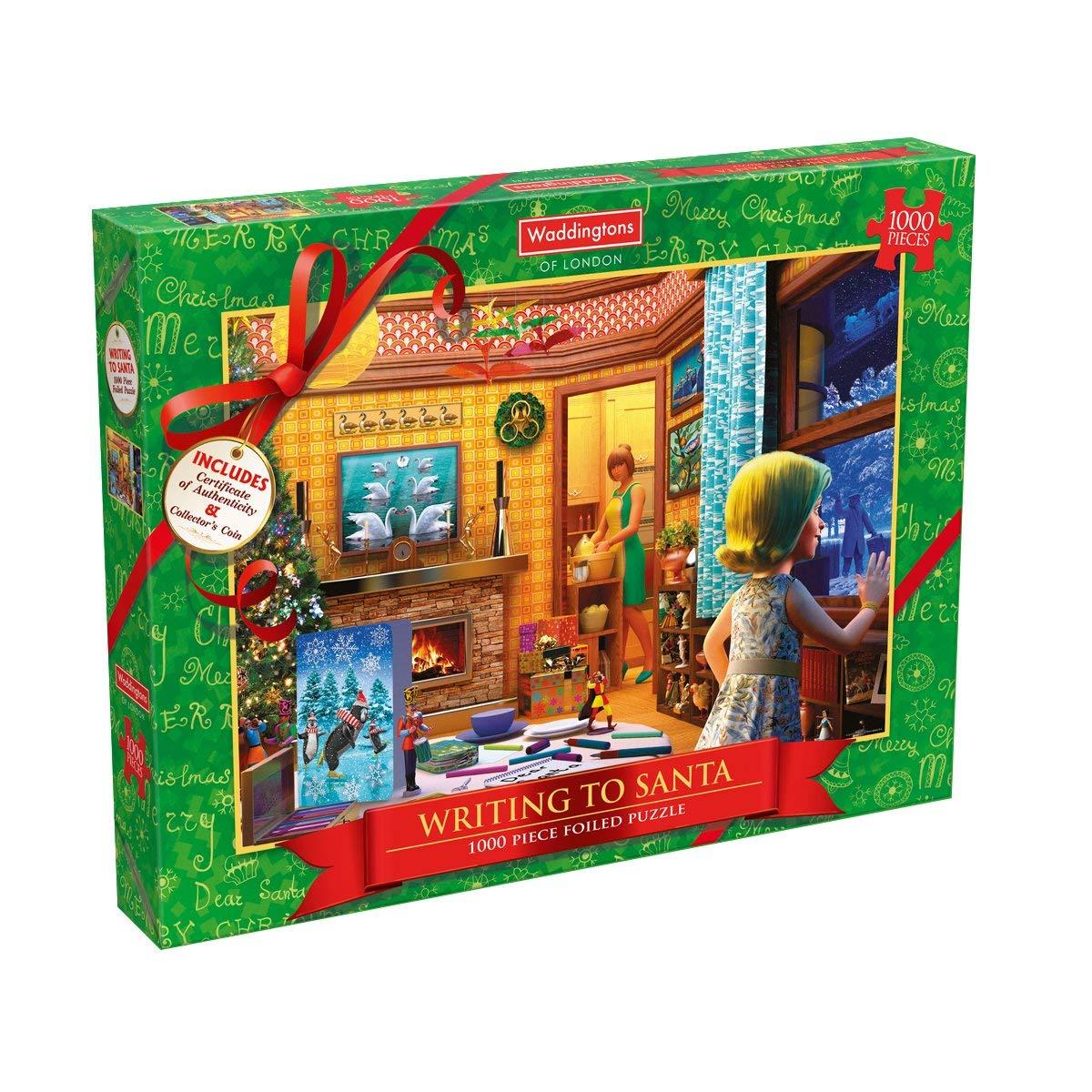 Christmas 1000 Piece Jigsaw Puzzle @ Amazon Add On £4.99