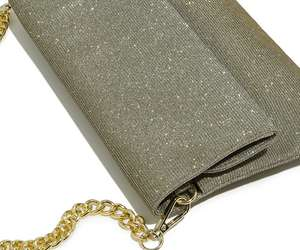 Glittery ladies bag £10 delivered w/code @ Oasis